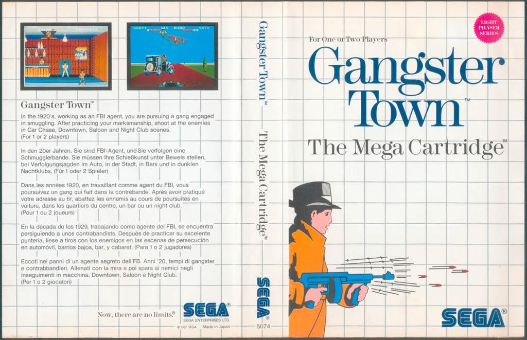 [Master System] Les Jeux Light Phaser GangsterTown-SMS-EU-NoLimits
