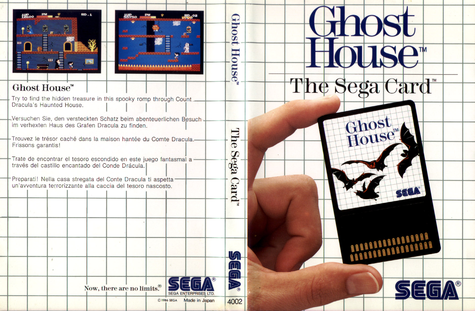 [Master System] Les Sega Card Pal GhostHouse-SMS-EU-Card-R