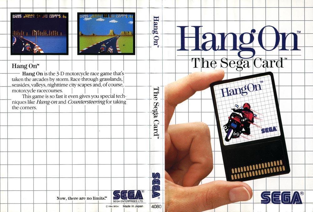 [Master System] Les Sega Card Pal HangOn-SMS-AU-Card