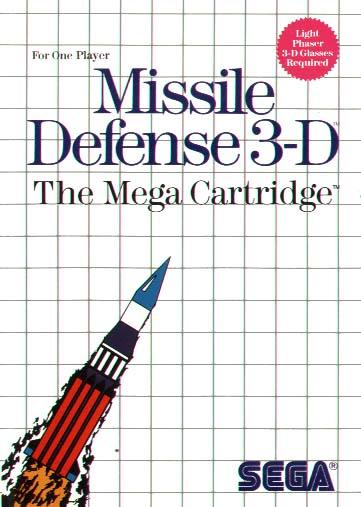 [Master System] Les Jeux Light Phaser MissileDefense3D-SMS-EU-Front