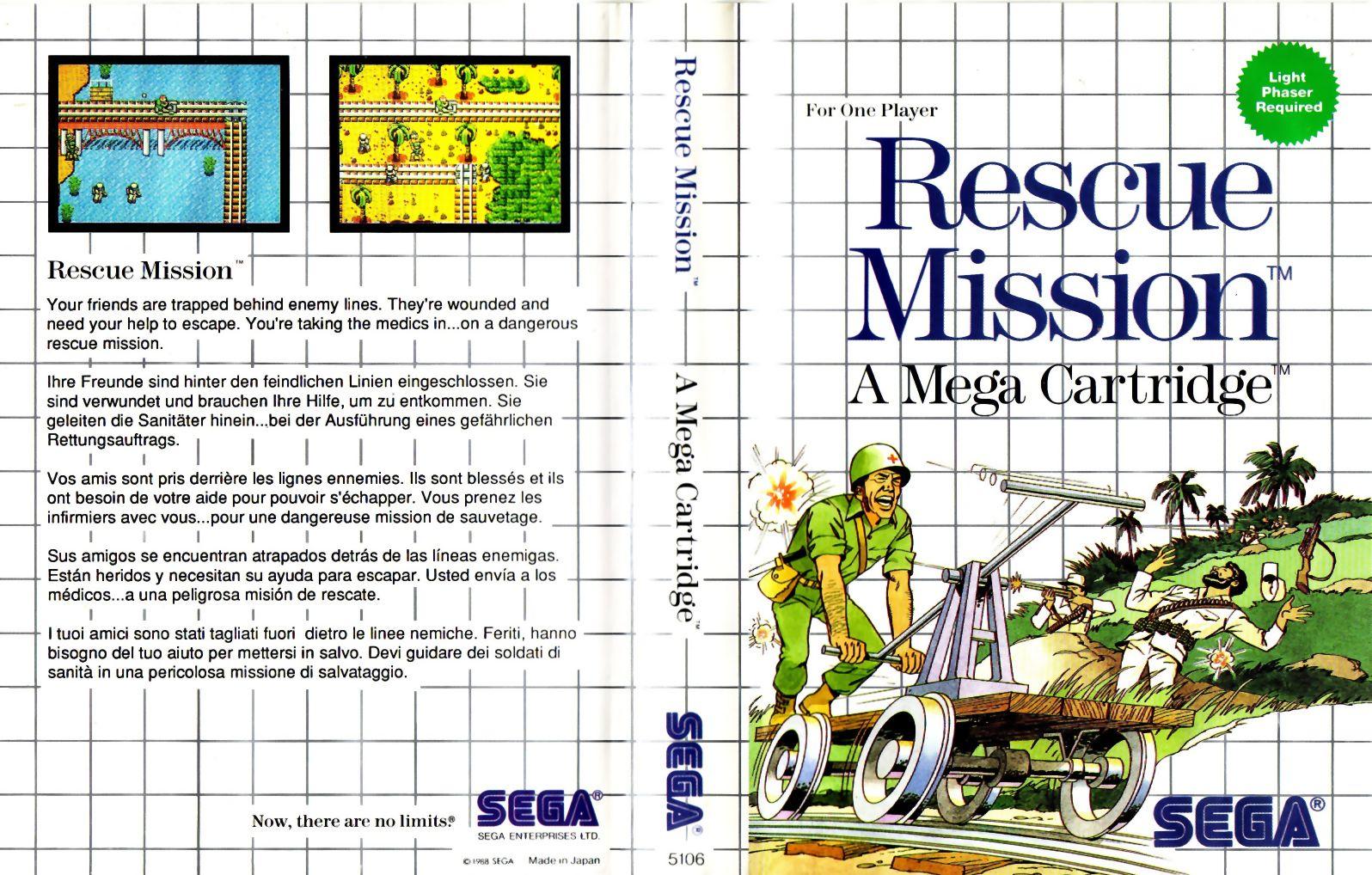[Master System] Les Jeux Light Phaser RescueMission-SMS-EU-NoLimits