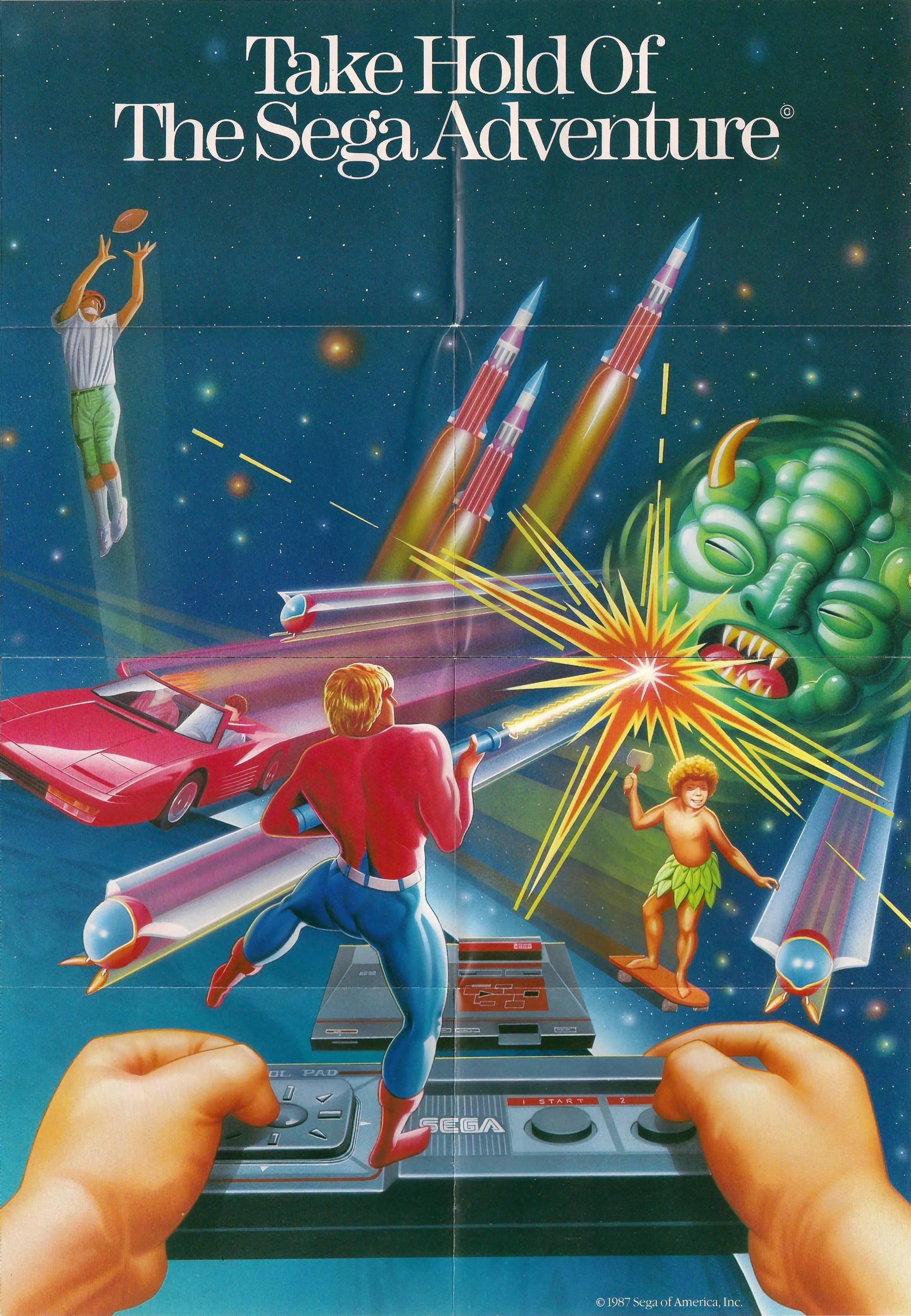 Qu'est-ce qu'il y avait dans ta boite aux lettres aujourd'hui? - Page 5 Sega-Catalogue-TakeHoldOfTheSegaAdventure-US-Poster