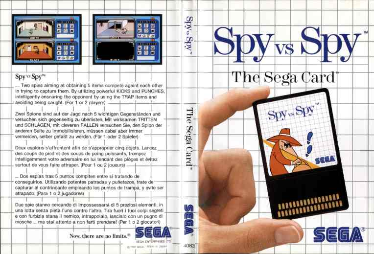 [Master System] Les Sega Card Pal SpyVsSpy-SMS-EU-Card
