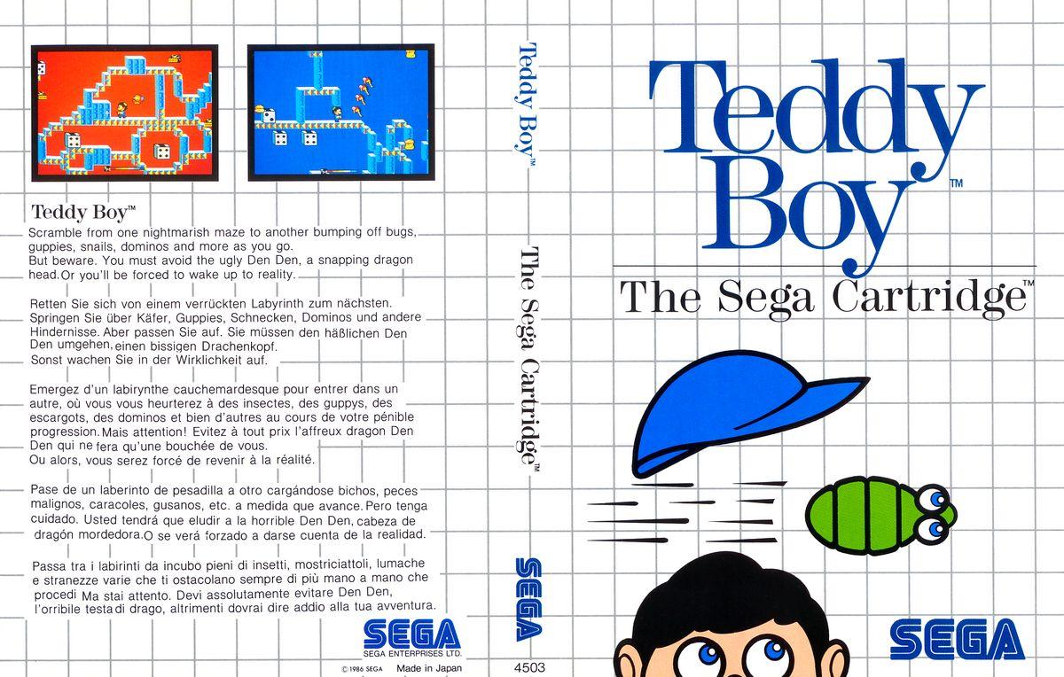 [Master System] Les Sega Card Pal TeddyBoy-SMS-EU-Cartridge-NoR