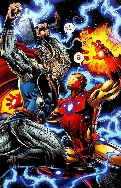 [Iron Studios] Marvel Comics Battle Dioramas - Página 2 Thor-vs-iron-man