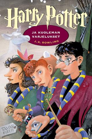 Les couvertures des livres à travers le monde - Page 2 Finnish_Deathly_Hallows_cover