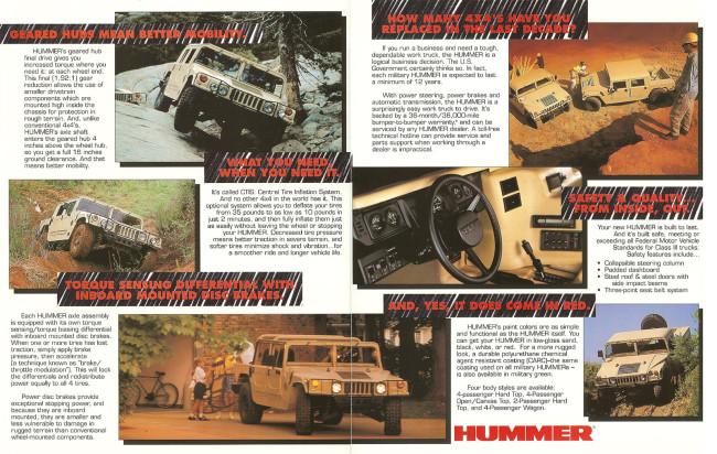 """HUMMER H1 1996: UN MILITAIRE EN SMOKING"" vu par soapcars Hummer-catalog-1993-650x412"