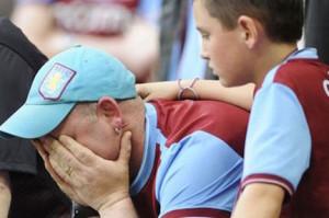 Aston Villa to Close Doors Permanently Villa-fans-sad-300x199