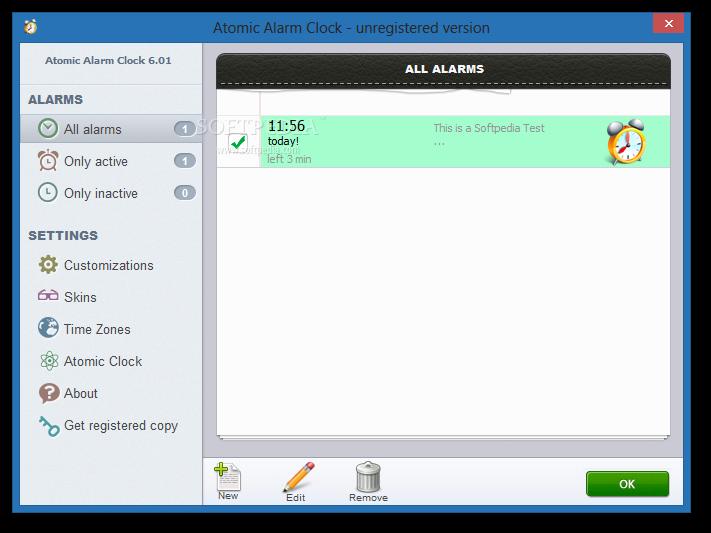 برنامج المنبه للكمبيوتر  Atomic Alarm Clock v5.92 Atomic-Alarm-Clock_2