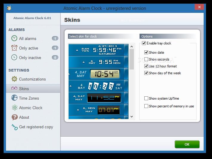برنامج المنبه للكمبيوتر  Atomic Alarm Clock v5.92 Atomic-Alarm-Clock_4