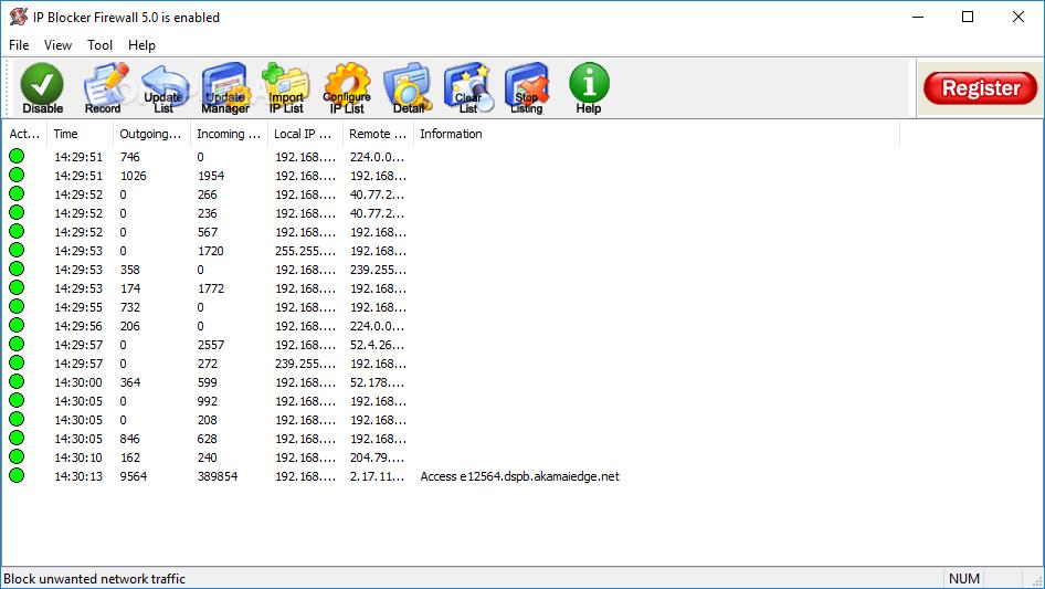 برنامج عمل بلوك لرقم اى بىBeeThink IP Blocker BeeThink-IP-Blocker_1