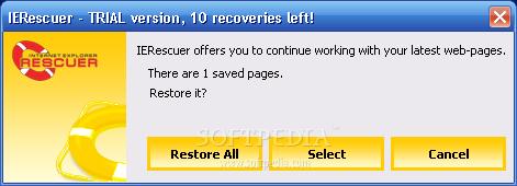برنامج متخصص فى ازالة أخطاء اللانترنت اكسبلور IERescuer_3