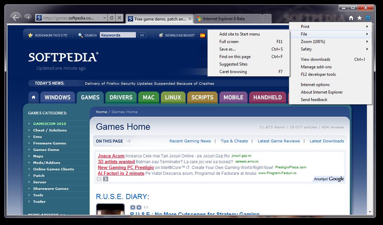 تحميل برنامج انترنت اكسبلورر الاصدار التاسع بيتا Internet Explorer 9 9.0.7930.16406 Beta Internet-Explorer-9_2