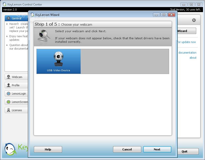 الكمبيوتر يفتح ويقفل بمجرد رؤيتك☻ KeyLemon 2.0.1 KeyLemon_1