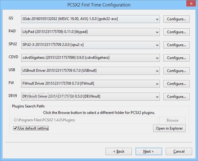 تشغيل البلاستيشن على الكمبيوتر Playstation Emulatorمع الشرح الممل PCSX2_2