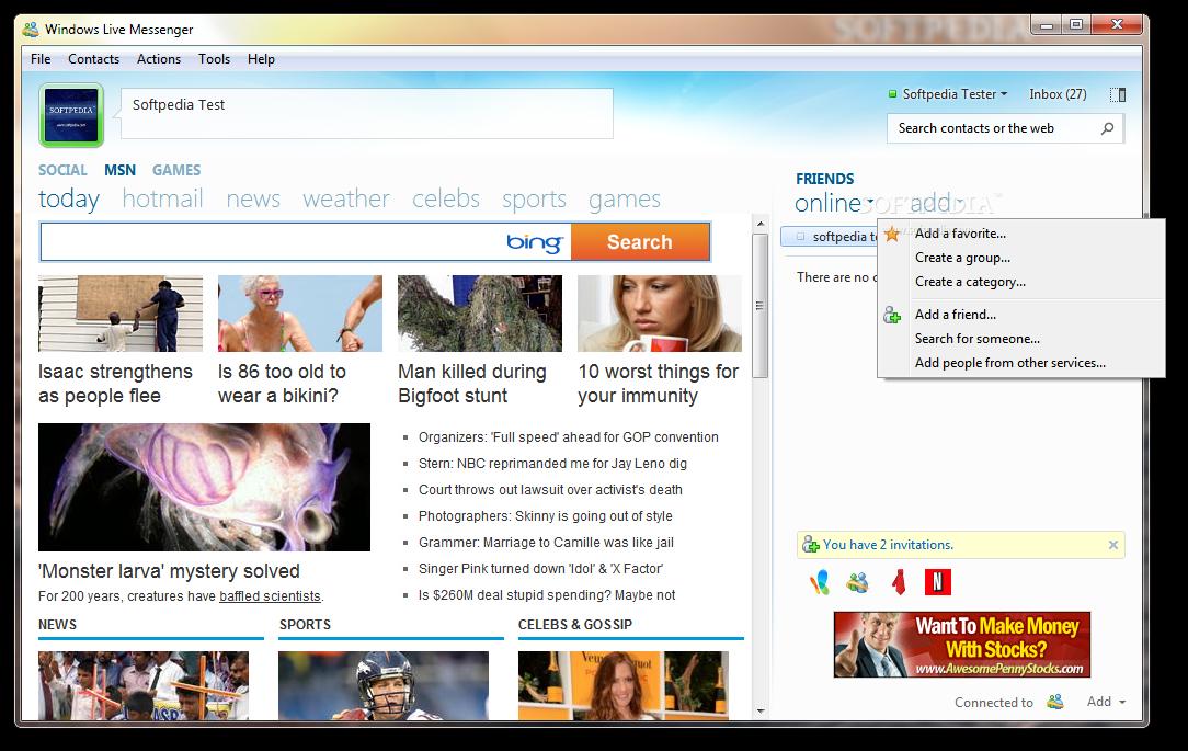 تحميل برنامج الهوتميل الجديدWindows Live Messenger 2009 Windows-Live-Messenger-9_1