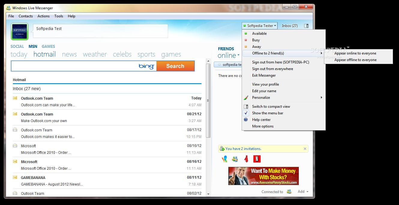 تحميل برنامج الهوتميل الجديدWindows Live Messenger 2009 Windows-Live-Messenger-9_2