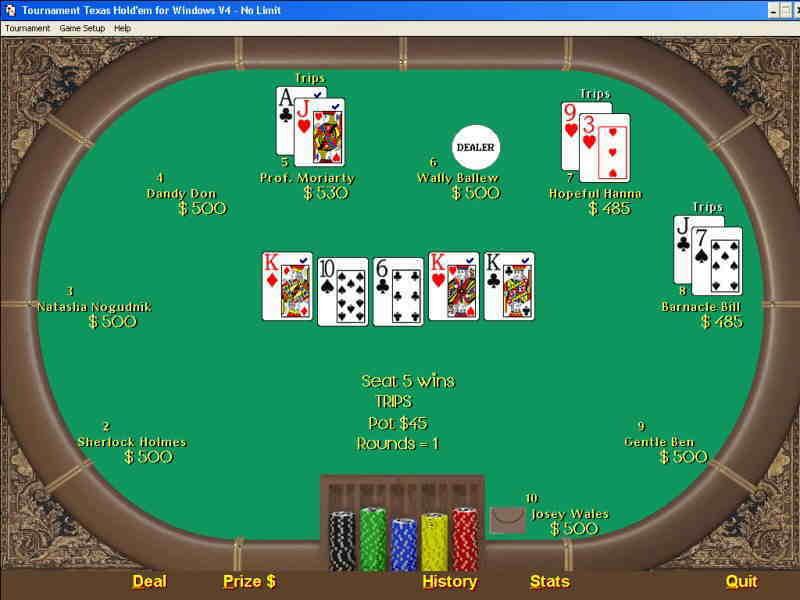 Dudas y sugerencias. Tournament-Texas-Holdem