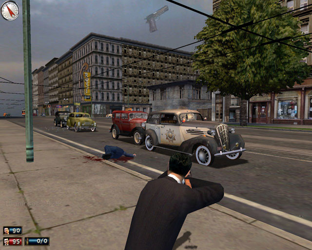 Mafia: The City of Lost Heaven Shooting_at_cops