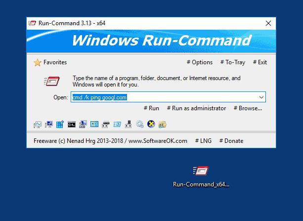 Windows10 - 26 Tools Run-Command