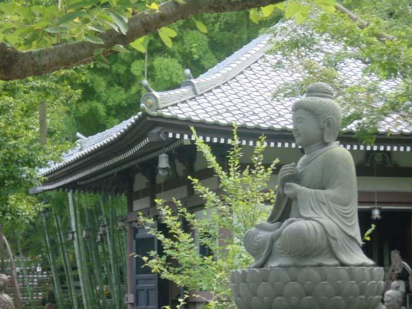 Satipatthânasutta      Le récit de l'attention vigilante Kamakura%20-%20Hase-Dera%20temple%20bouddha