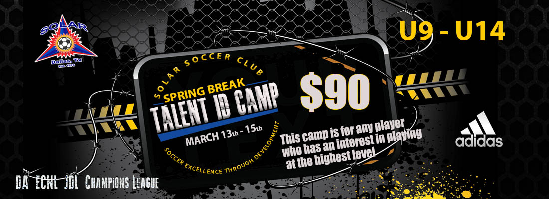 TALENT ID CAMP  TalentID3