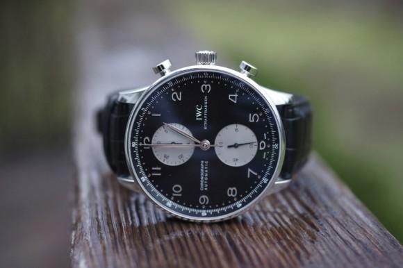 No tenemos sueños baratos... Iwc-portuguese-chronograph-automatic-black-face-580x386