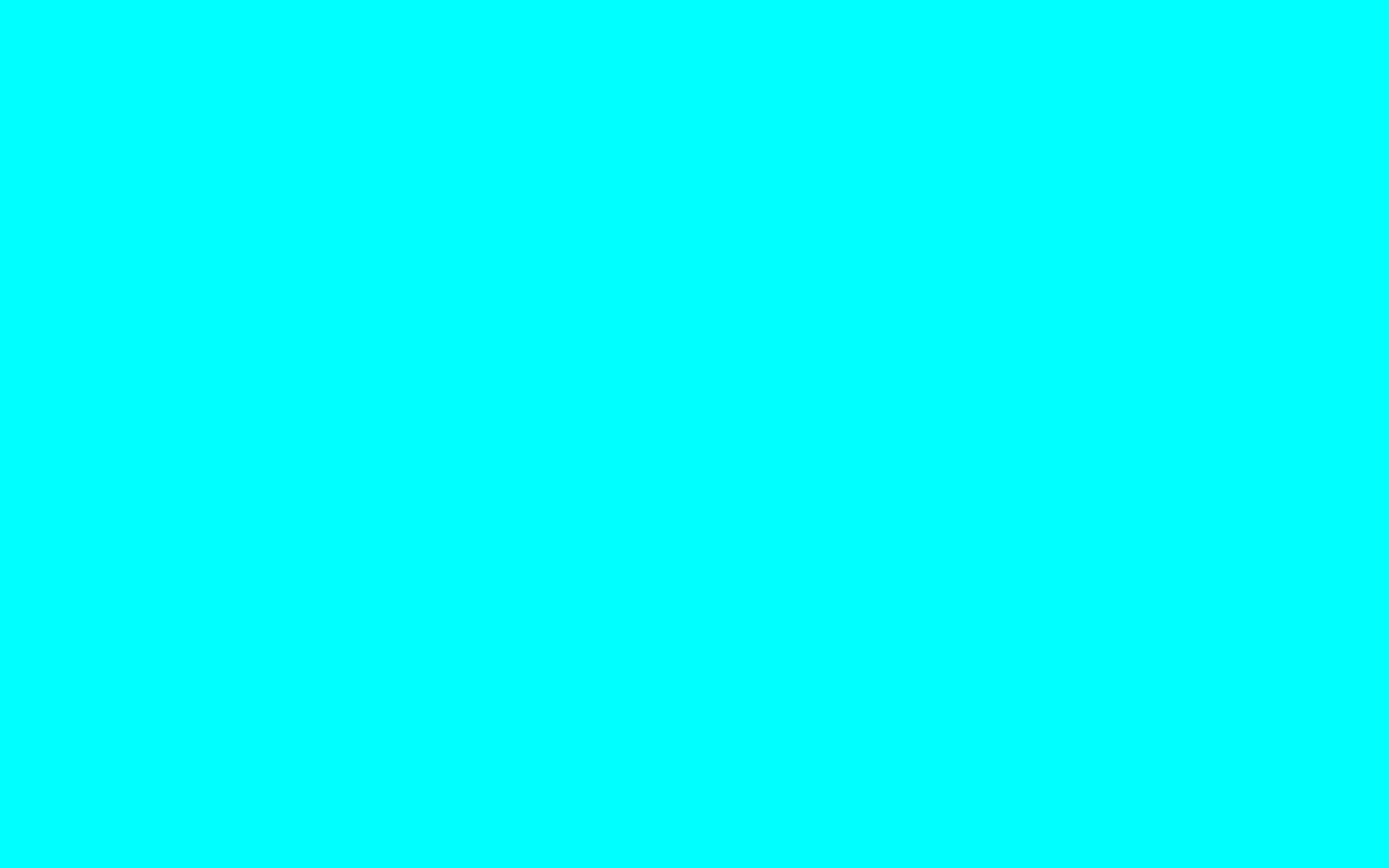 What color do you like? 2880x1800-electric-cyan-solid-color-background
