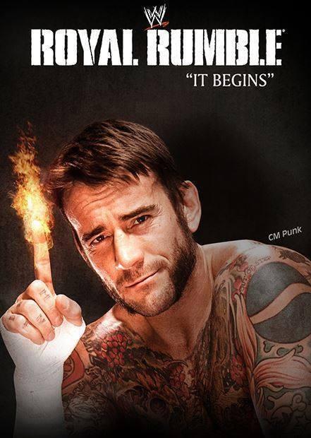 Póster WWE Royal Rumble 2014 RESEG34137WWE-Royal-Rumble-2014-Poster