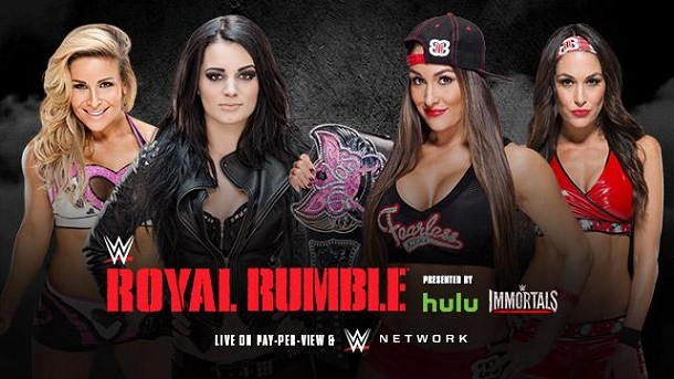 Cartel WWE Royal Rumble 2015 RESEG43326RR2015_DIVAS