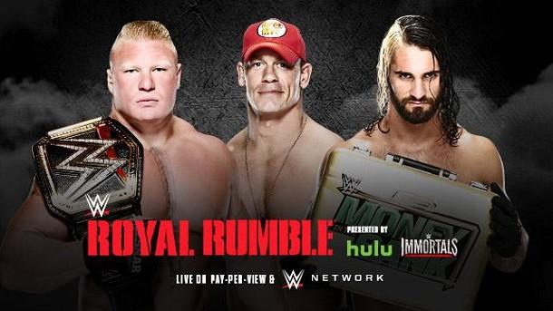 Cartel WWE Royal Rumble 2015 RESEG43326RR2015_ME