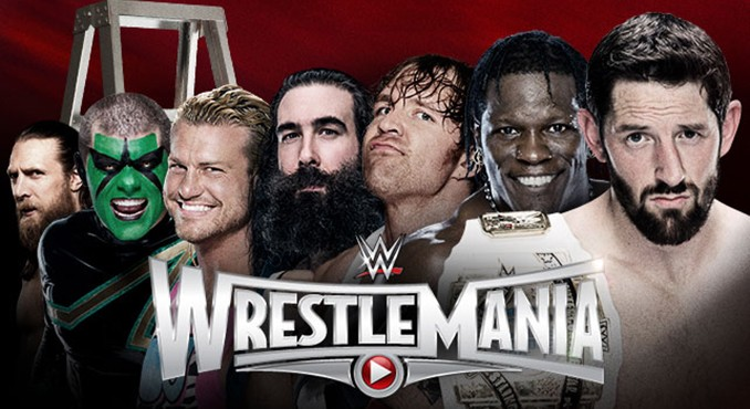 CARTEL OFICIAL WRESTLEMANIA 31: DANIEL BRYAN, SÉPTIMO PARTICIPANTE DEL LADDER MATCH RESEM4451320150309_LIGHT_WM31_Match_BadNewsLadder_HP2