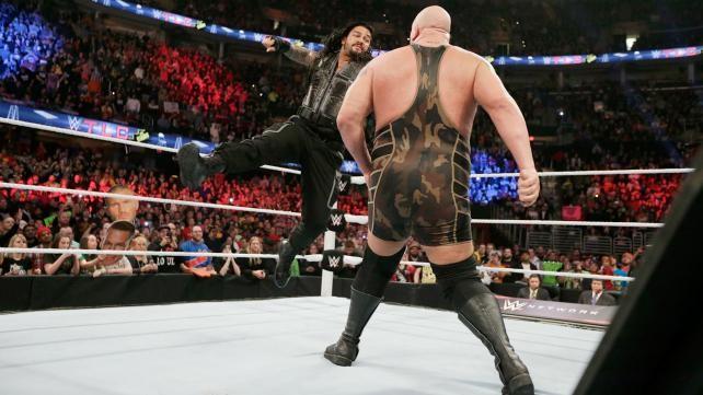 ENFRENTAMIENTOS POST WRESTLEMANIA - WWE POWER RANKINGS - DECLARACIONES DE BRAD MADDOX RESEM44596bigshowreigns