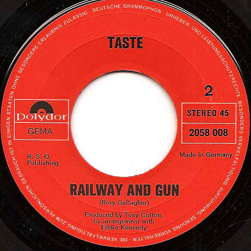 Taste - On The Boards (1970) Taste-railway