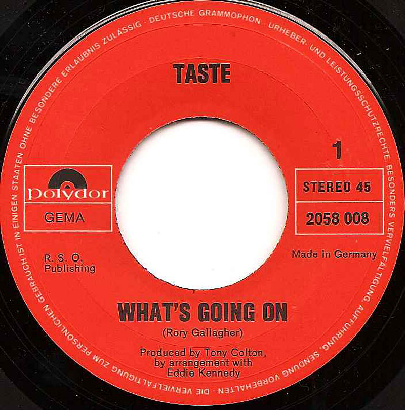 Taste - On The Boards (1970) Taste-whats