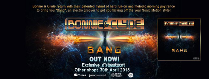 Bonnie and Clyde - Bang - OUT NOW !! Bonnie-and-clyde---BANG-banner-out-now-cover699