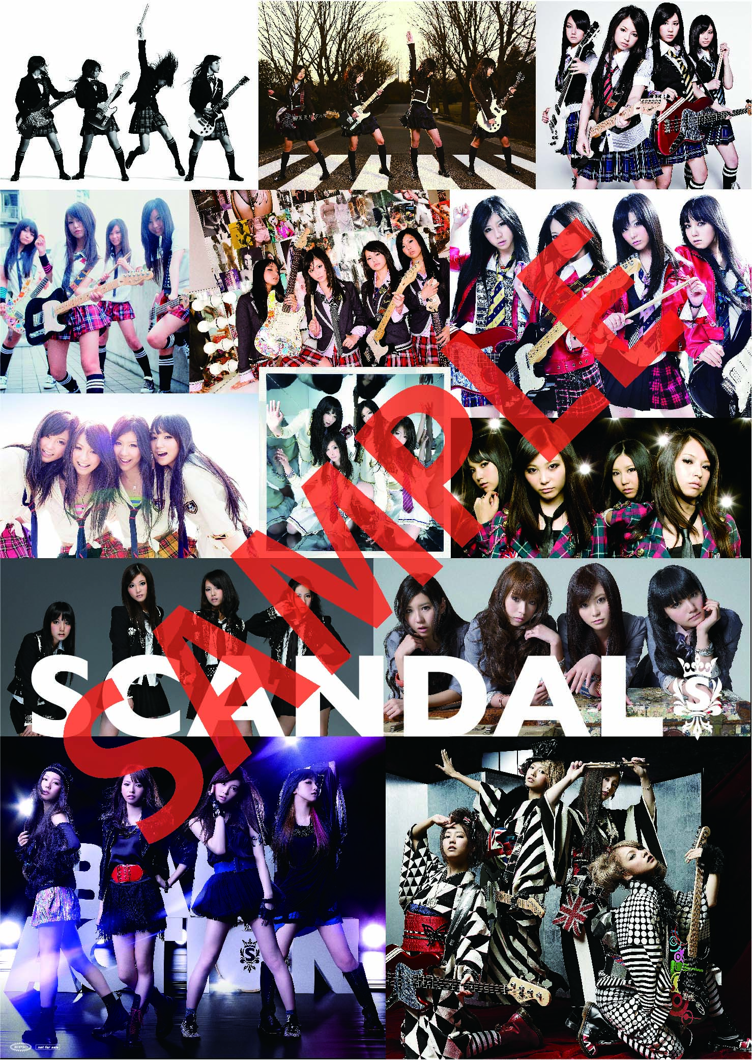 1st Best Album - 『SCANDAL SHOW』 - Page 6 Scandalhistory
