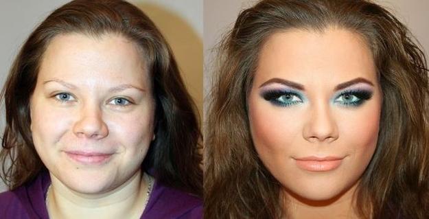 [Jeu] Association d'images - Page 4 Maquillage-russe-avant-apres-11