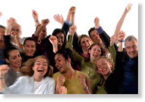 Unprecedented Mass Enlightenment of US Population Happy_crowd