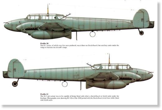 [WW2] Gladiator - Fiat Cr.42 Falco - Beaufighter - Messerschmitt Bf.110 0_Messerschmitt_Bf_110D1_Profi