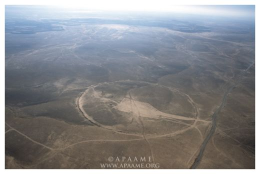 Ancient Stone Circles In Middle East Baffle Archaeologists Big_circles_mideast_5