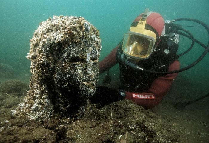 Héracléion, une cité égyptienne engloutie, révèle des secrets vieux de 1200 ans Ptolemaic-Era