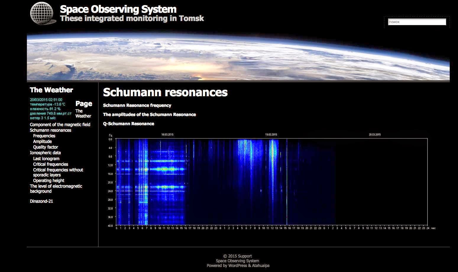 The Evidence We've Been Looking For, Earth IS Ascending Schumann-resonance-18Mar2015