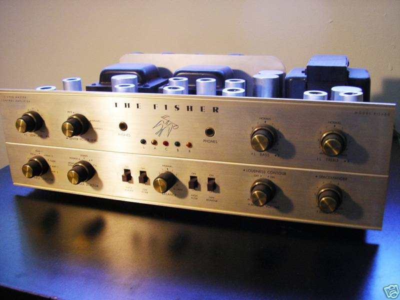 The Golden Age Fisher-x-1000-tube-amplifier-1