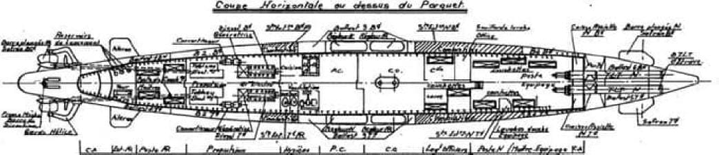 Sous-marin classe Daphné (scratch demi-coque 1/50°) par demicoque Coupe2_Min