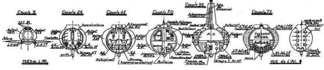 Sous-marin classe Daphné (scratch demi-coque 1/50°) par demicoque Coupe3_Min