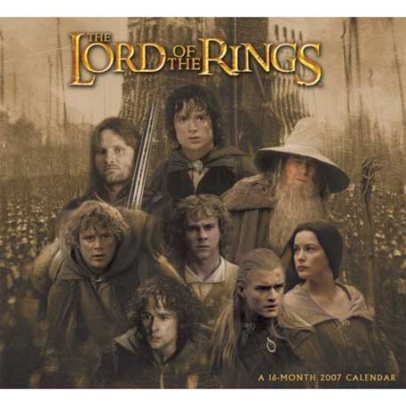The Lord of the Rings J.R.R Tolkien Lord_of_the_rings_calendar_photo