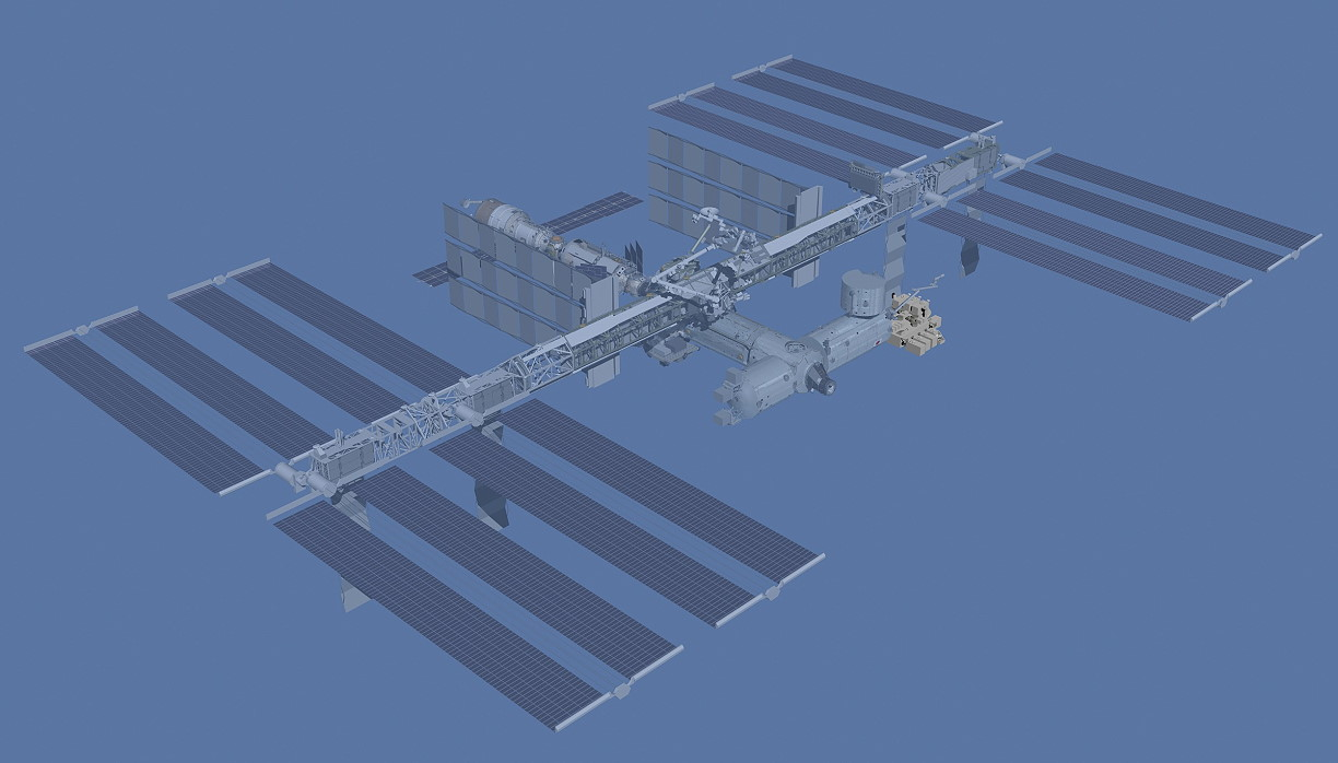 Animation assemblage ISS Sts-127_iss