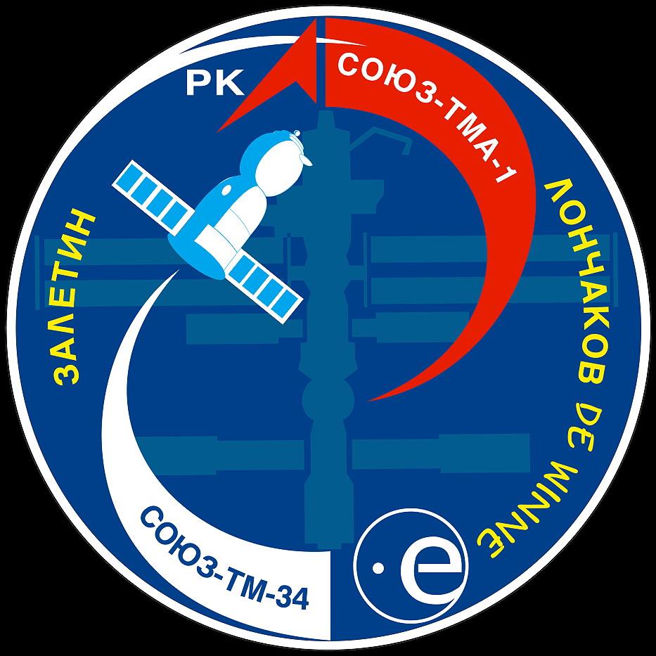 Animation assemblage ISS Soyuz-tma-1