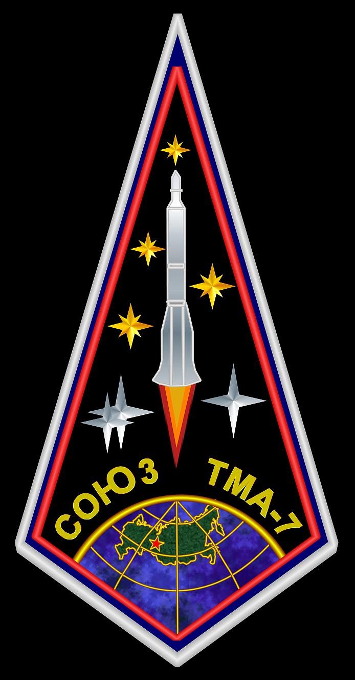 Animation assemblage ISS Soyuz-tma-7
